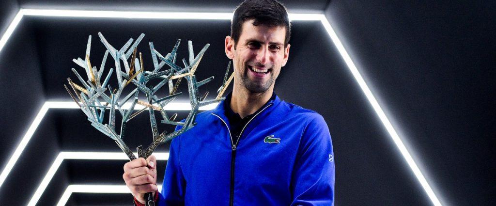 Rolex Paris Masters - Djokovic : « C'était un super tournoi ! »