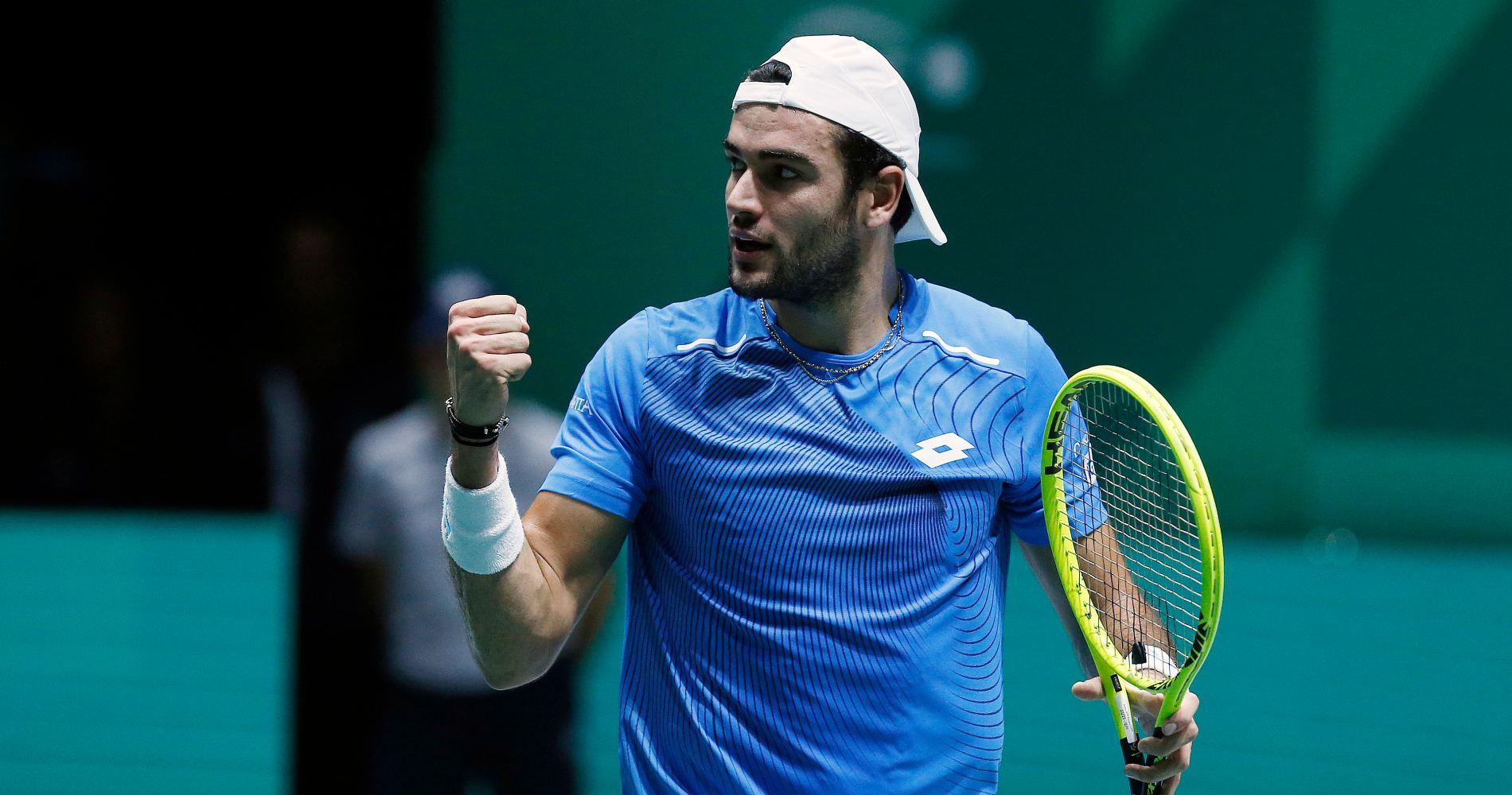 Matteo Berrettini, Davis Cup, 2019