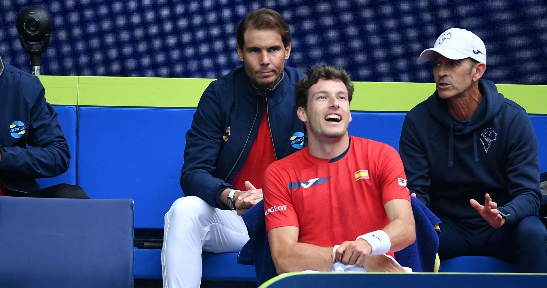 Rafael Nadal, ATP Cup, 2021