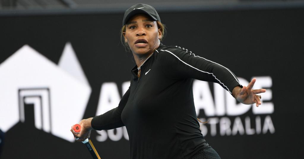 Serena Williams, Adélaïde 2021