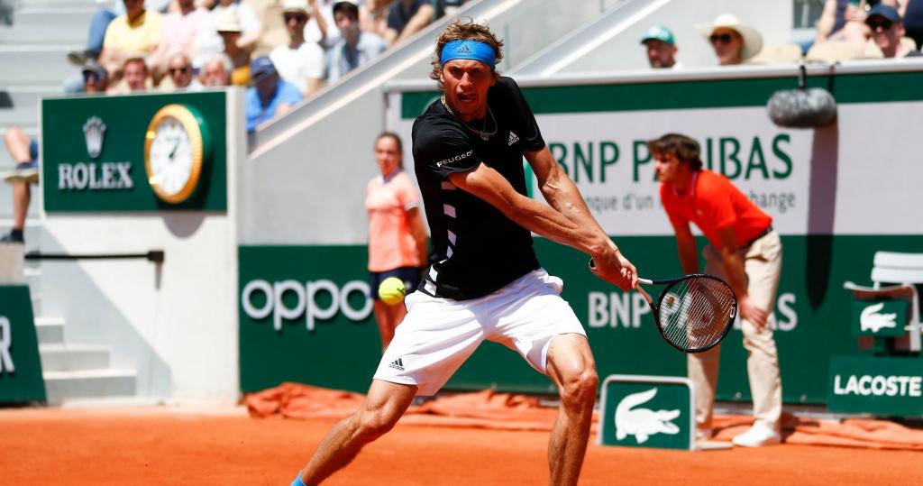 Alexander Zverev Roland-Garros 2019
