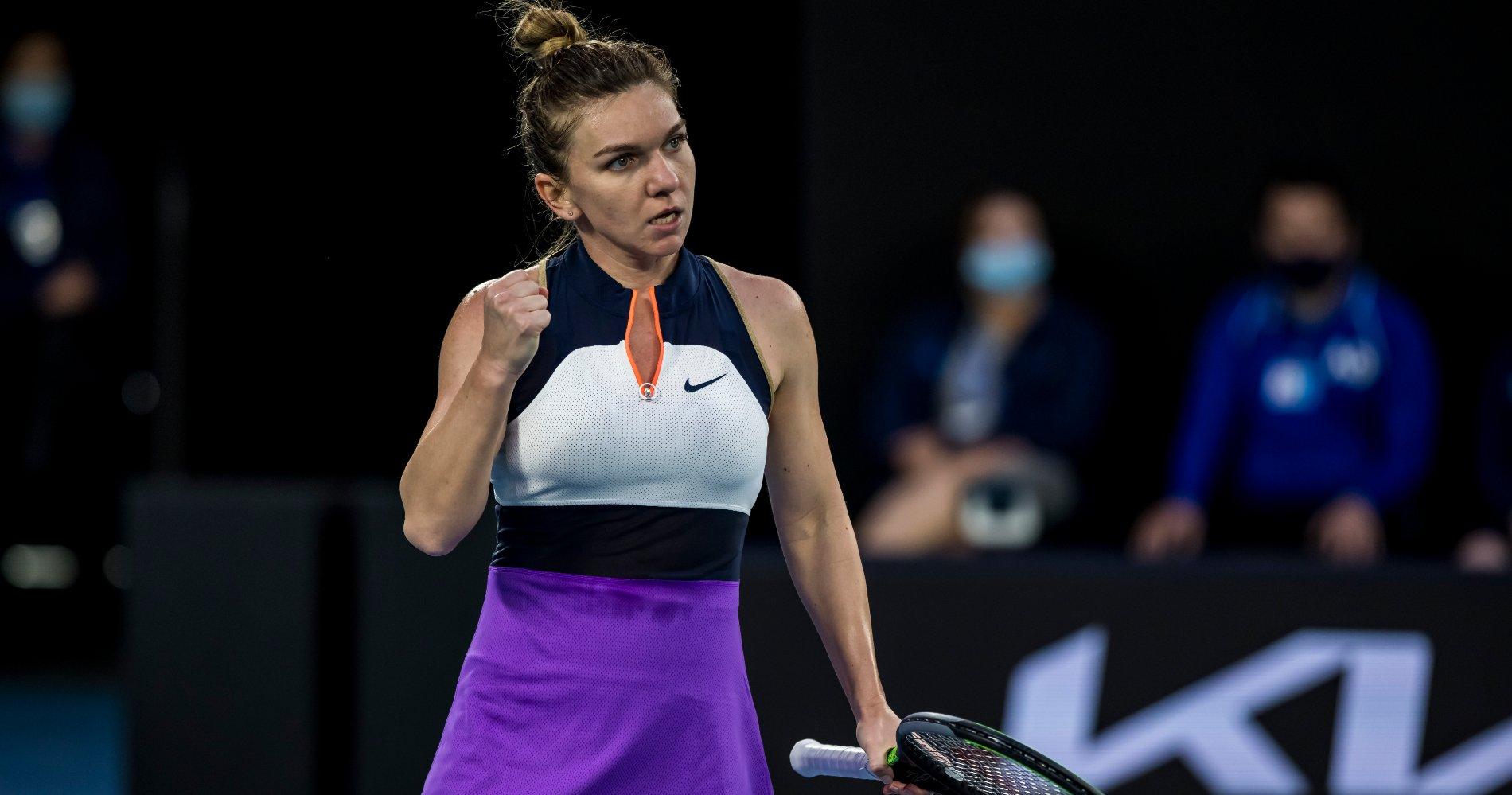 Simona Halep, Australian Open 2021, 1st Round