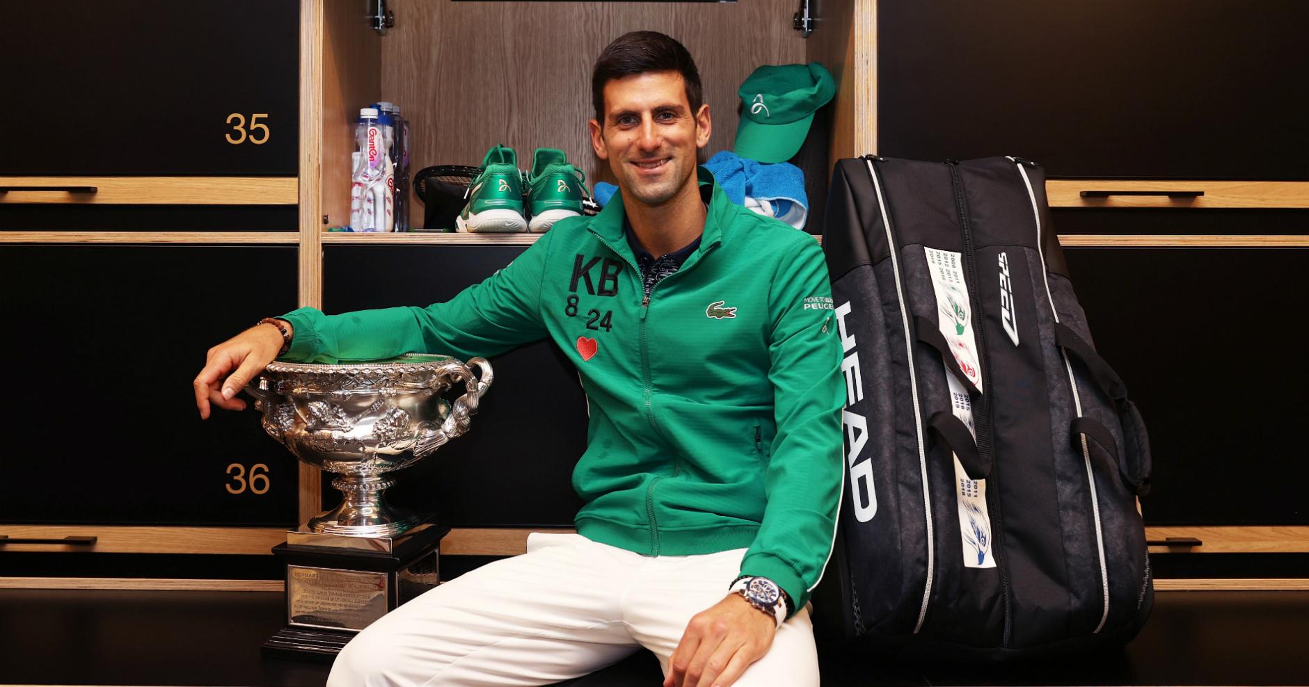 Novak Djokovic 2020 Australian Open