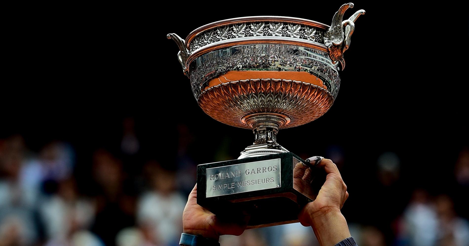 Roland-Garros' men trophy