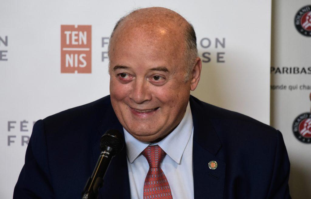 Bernard Giudicelli - Président de la FFT
