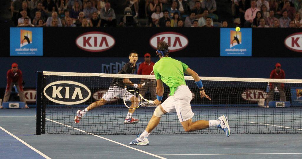 La finale de l'Open d'Australie 2012 est le plus grand match entre les deux champions.
