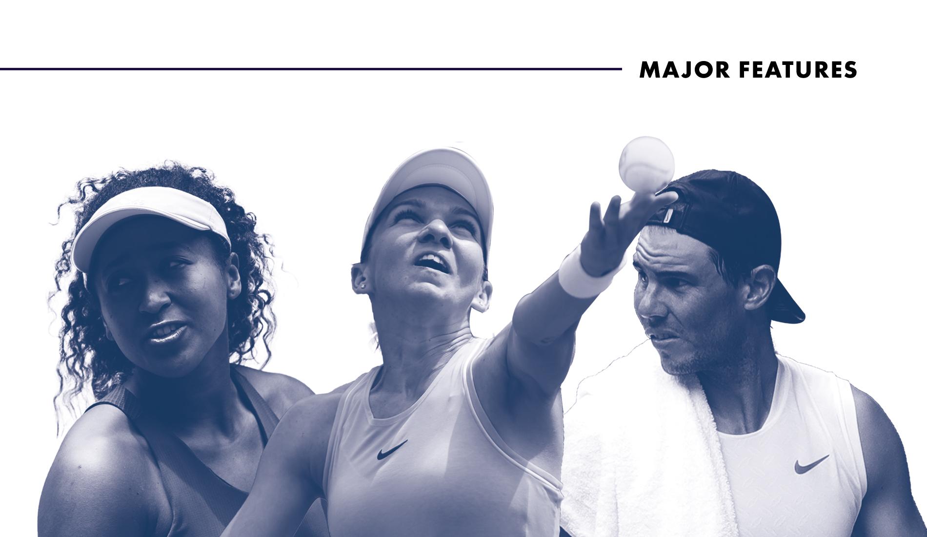 """Feature """"Confinement"""" - Tennis Majors"""
