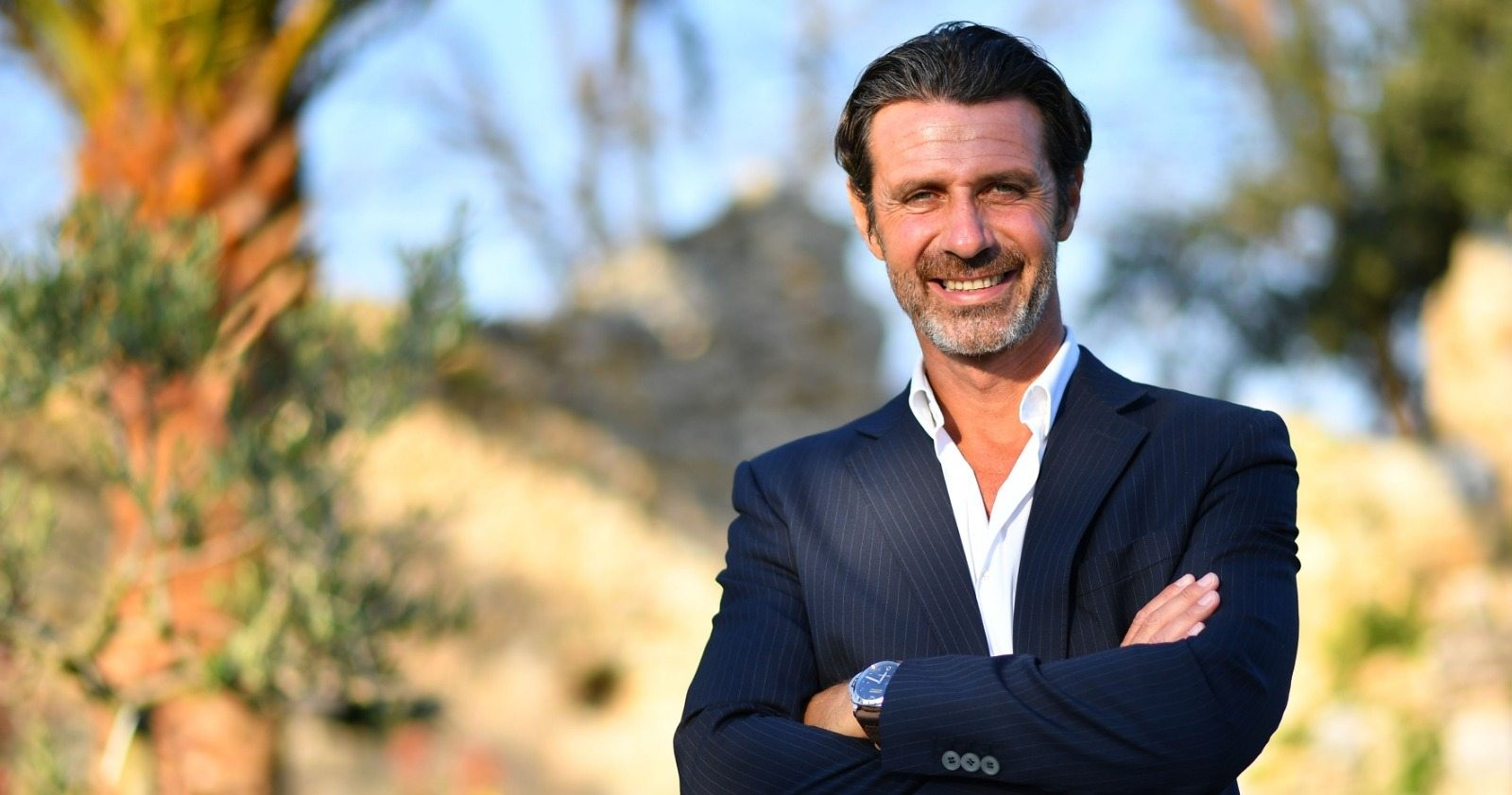 French coach Patrick Mouratoglou founded his Tennis Academy in 1996