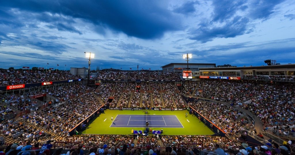 Rogers Cup's stadium in Montreal