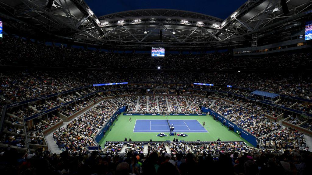 US Open's Arthur Ashe court