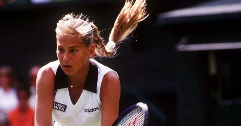 Anna Kournikova, 1997 Wimbledon