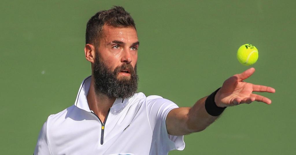 Benoit Paire in Dubai in 2020