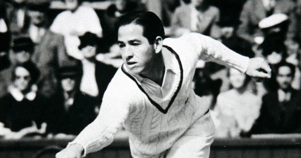 Bobby Riggs, 1939 Wimbledon champion