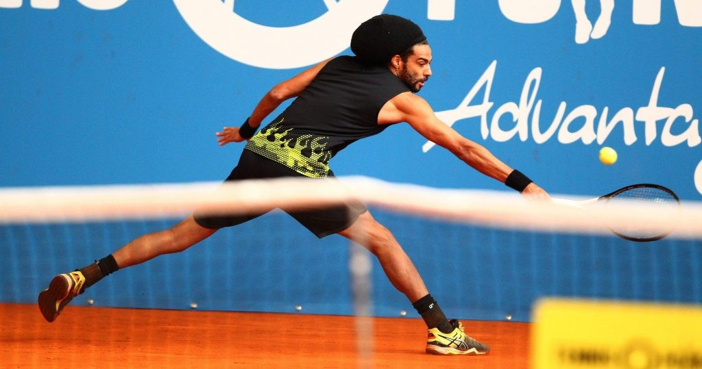Dustin Brown is the most prestigious player at Exo Tennis.