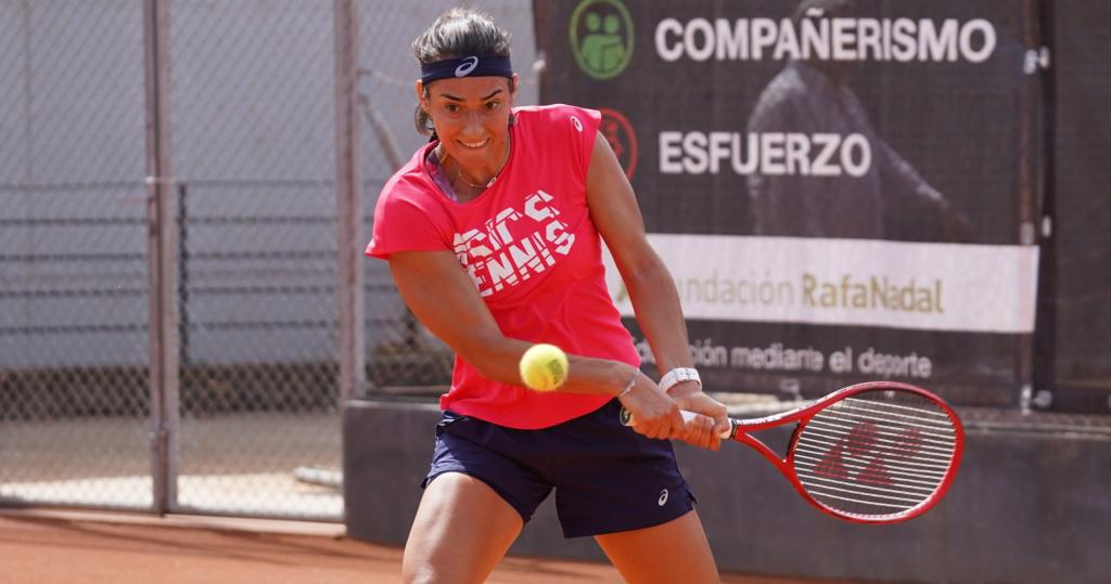 Caroline Garcia à la Rafa Nadal Academy (2020)