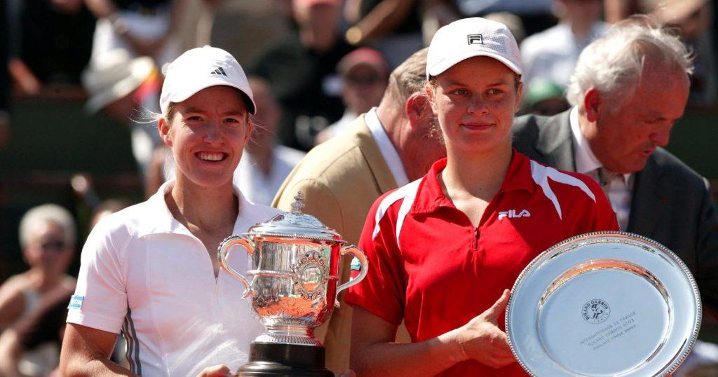 Hénin et Clijsters à Roland Garros en 2003