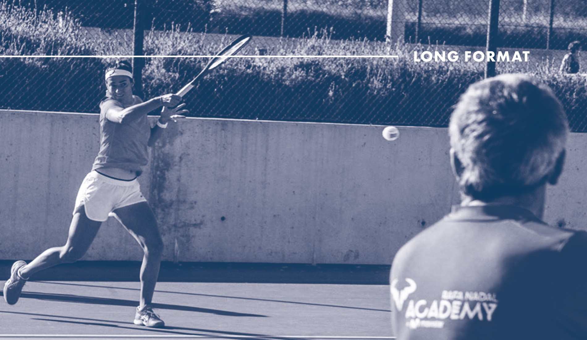 Caroline Garcia, Nadal Académie (Long Format Tennis Majors)