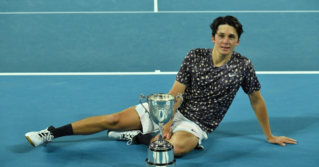 Harold Mayot won the Australian Open junior in 2020