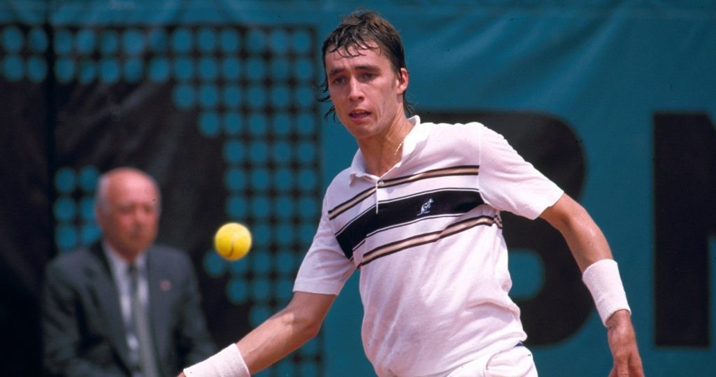 Ivan Lendl during 1981 French Open