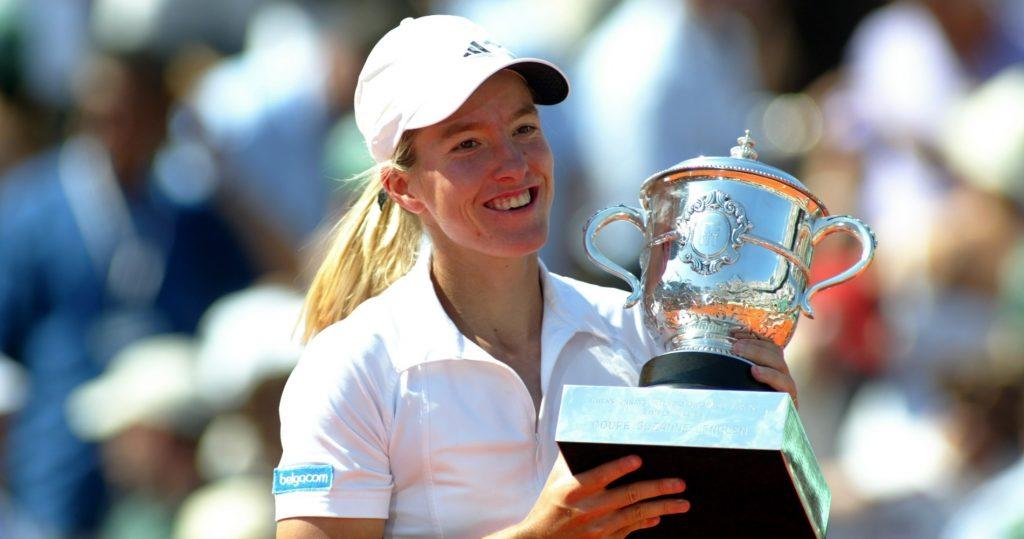 Justine Hénin, 2003 French Open champion