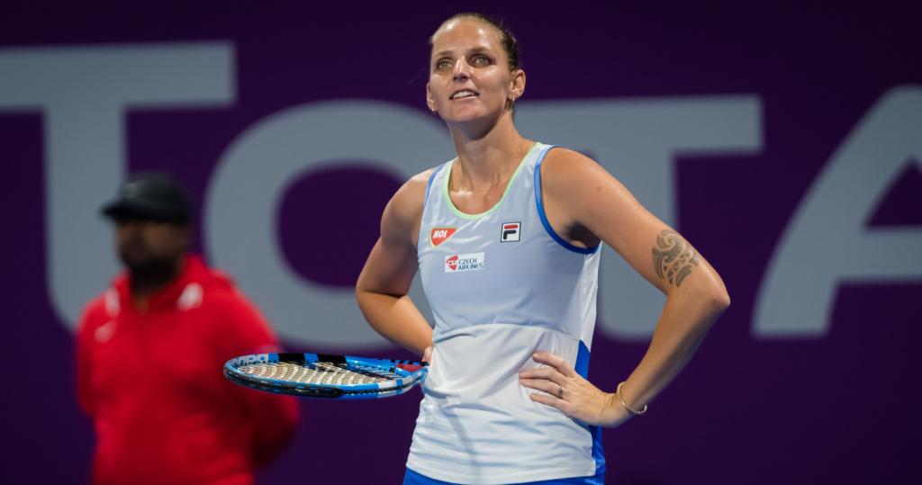 Karolina Pliskova, 2020 Doha