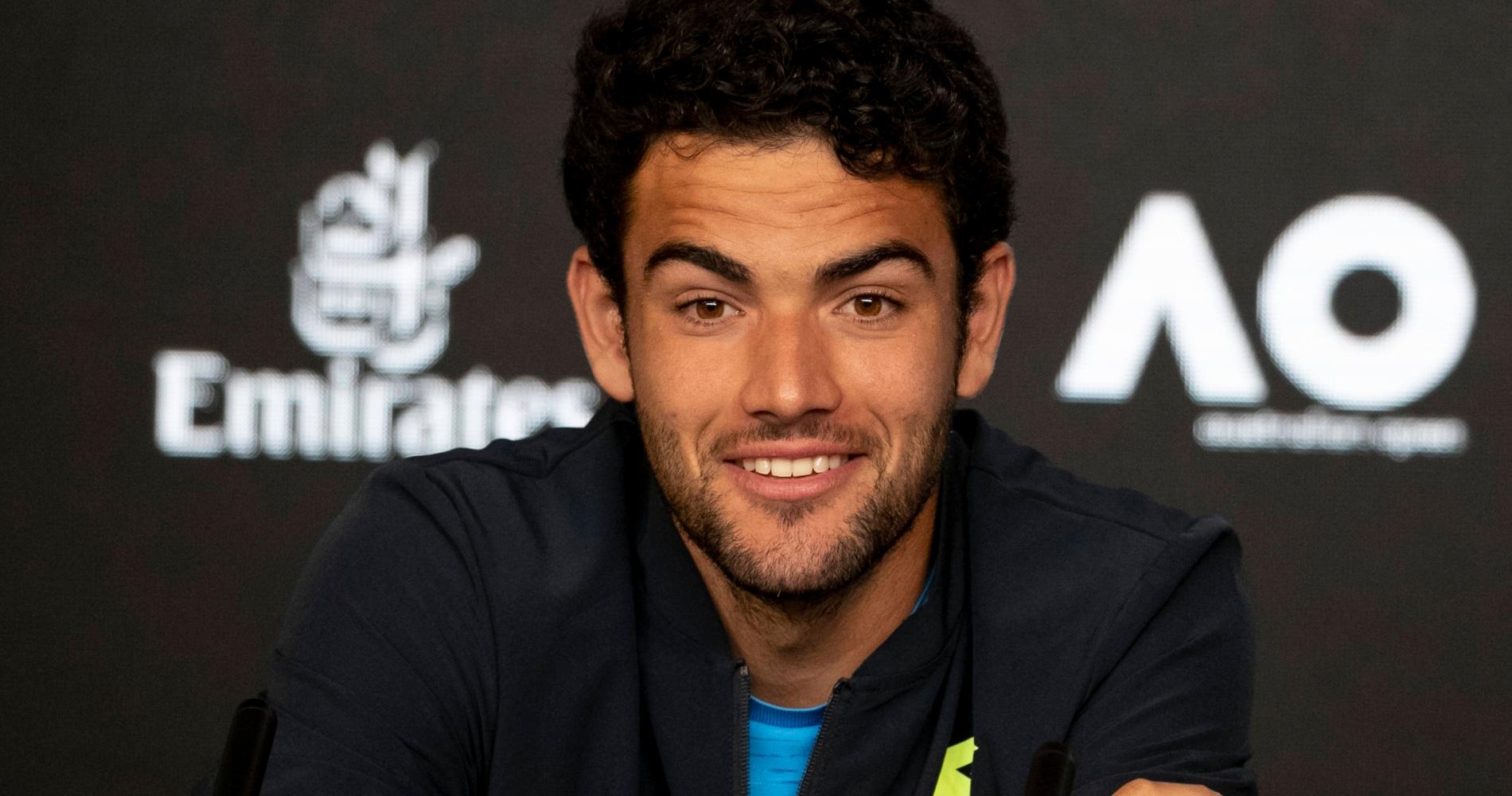 Matteo Berrettini, 2020 Australian Open