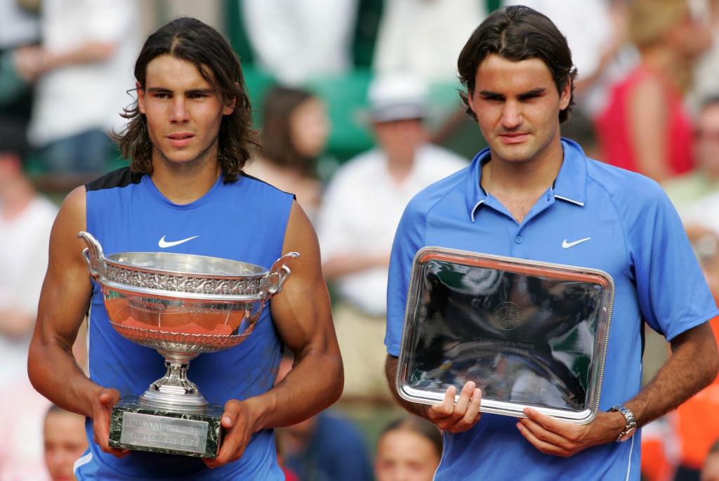 Nadal Federer Roland-Garros 2006