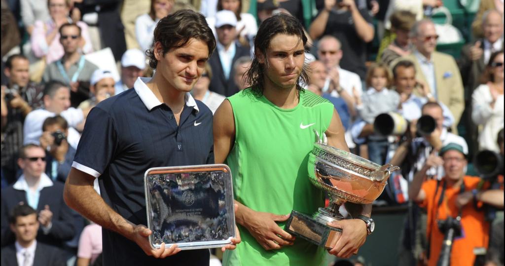 Federer won only 4 games vs Nadal at 2008 Roland Garros