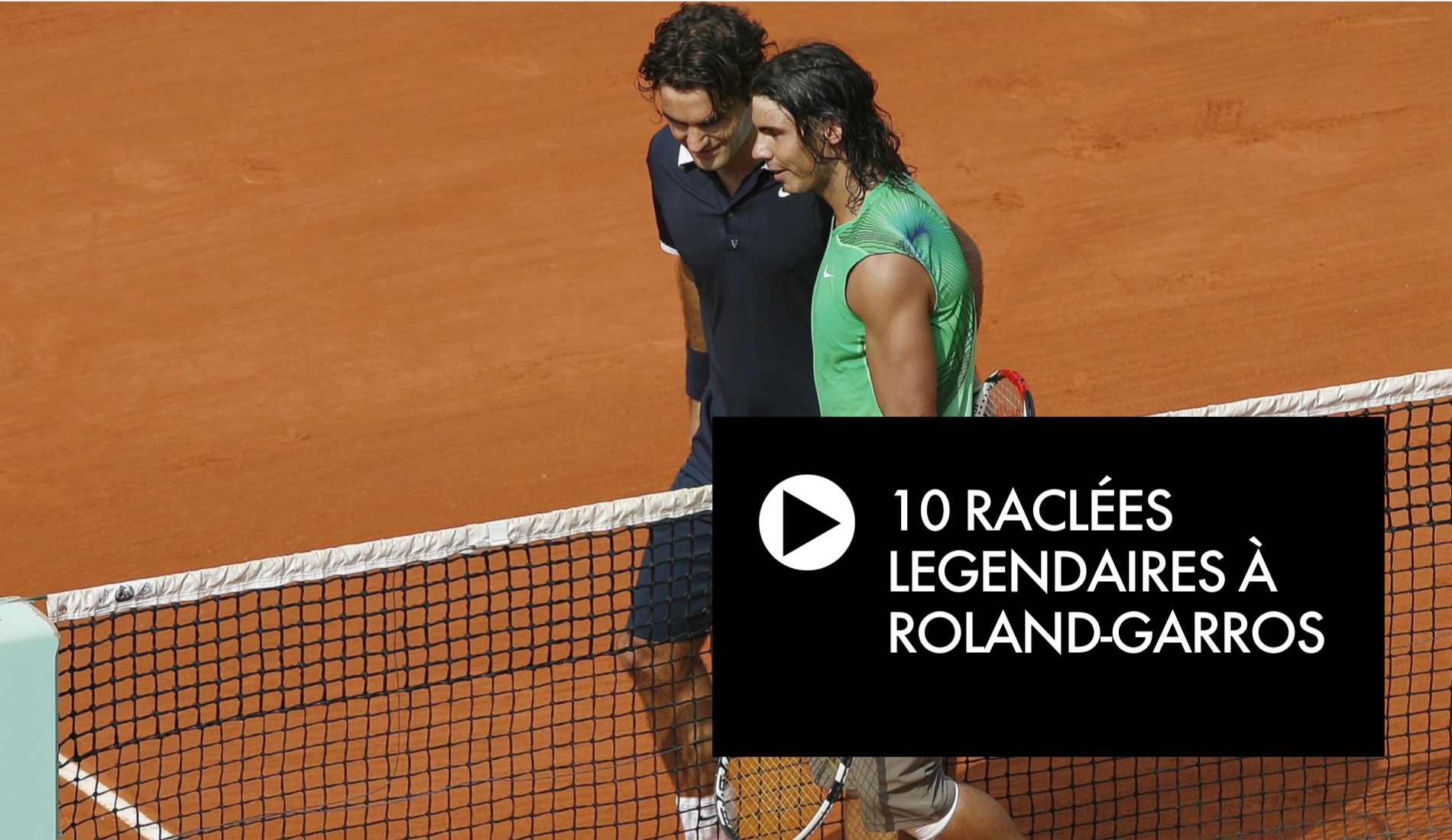 Retour sur 10 raclées légendaires à Roland Garros