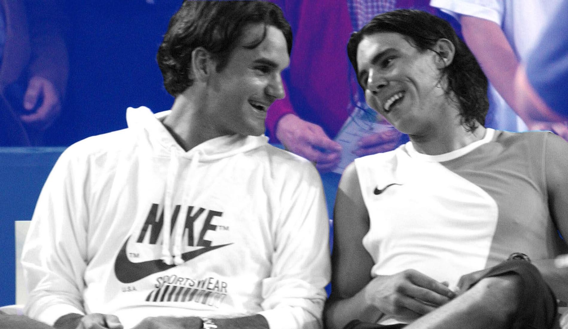Nadal et Federer, lors de la bataille des surfaces