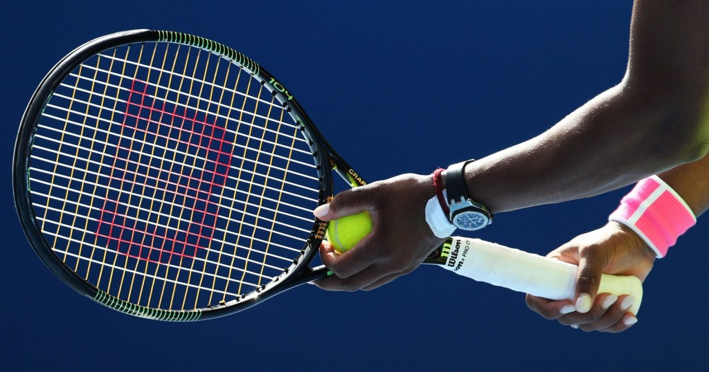 Serena Williams uses a Wilson racquet