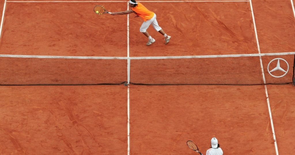 Rafael Nadal v Guillermo Coria, 2005 Monte-Carlo final