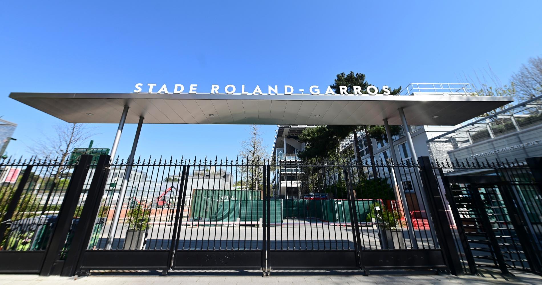 Roland-Garros' entry