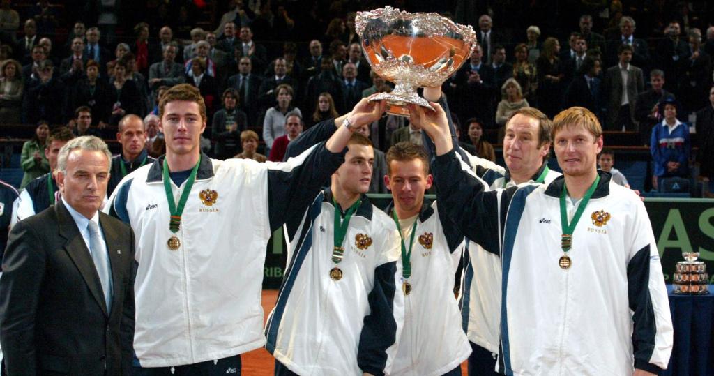 Russia, Davis Cup champion, 2002