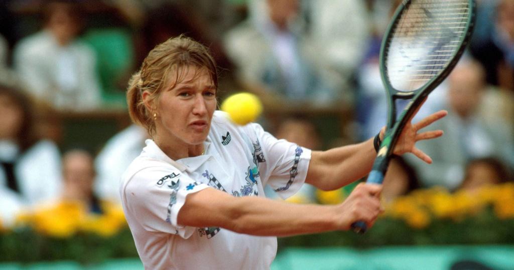 Steffi Graf at 1996 Roland Garros