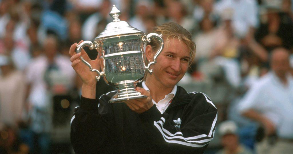 Steffi Graf, 1995 US Open winner