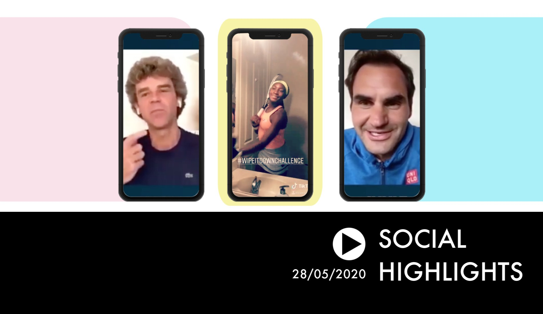 Kuerten to Federer: «Did you ever practice? It seems so easy!» - Social Highlights 28.05.20
