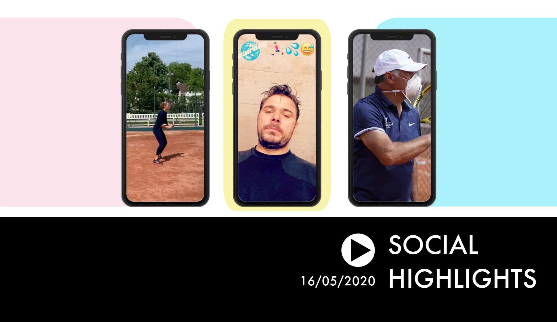 Social Highlights - Players are back on court