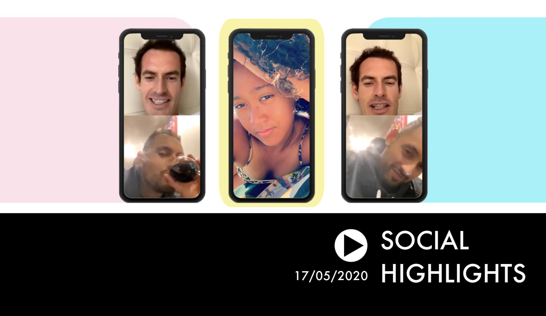 Social Highlights #8 - Nick Kyrgios's show
