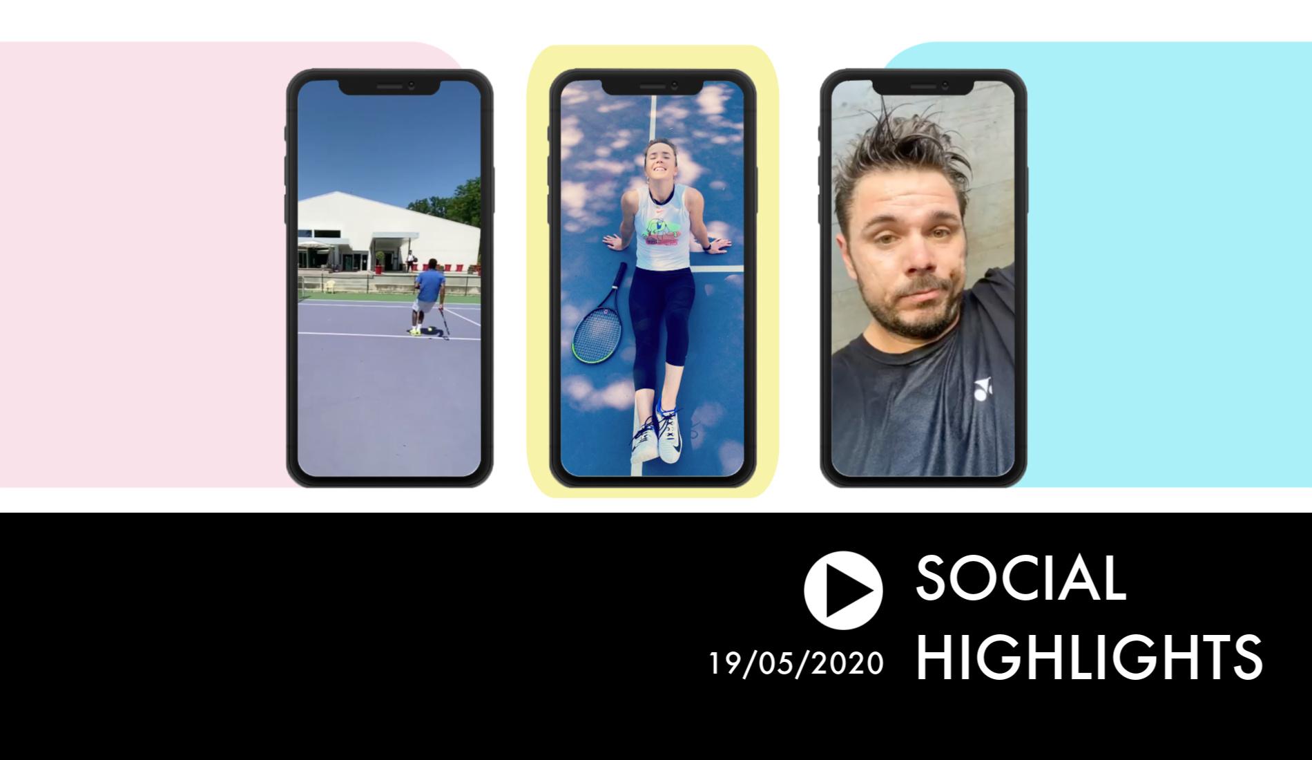 Social Highlights 9 - Monfils trick shots