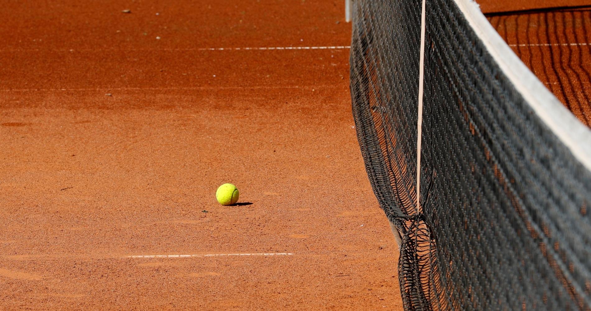 Tennis court in Austria