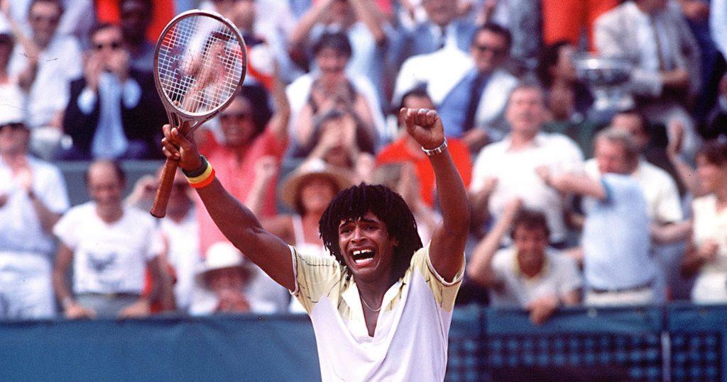 Yannick Noah, 1983 French Open champion