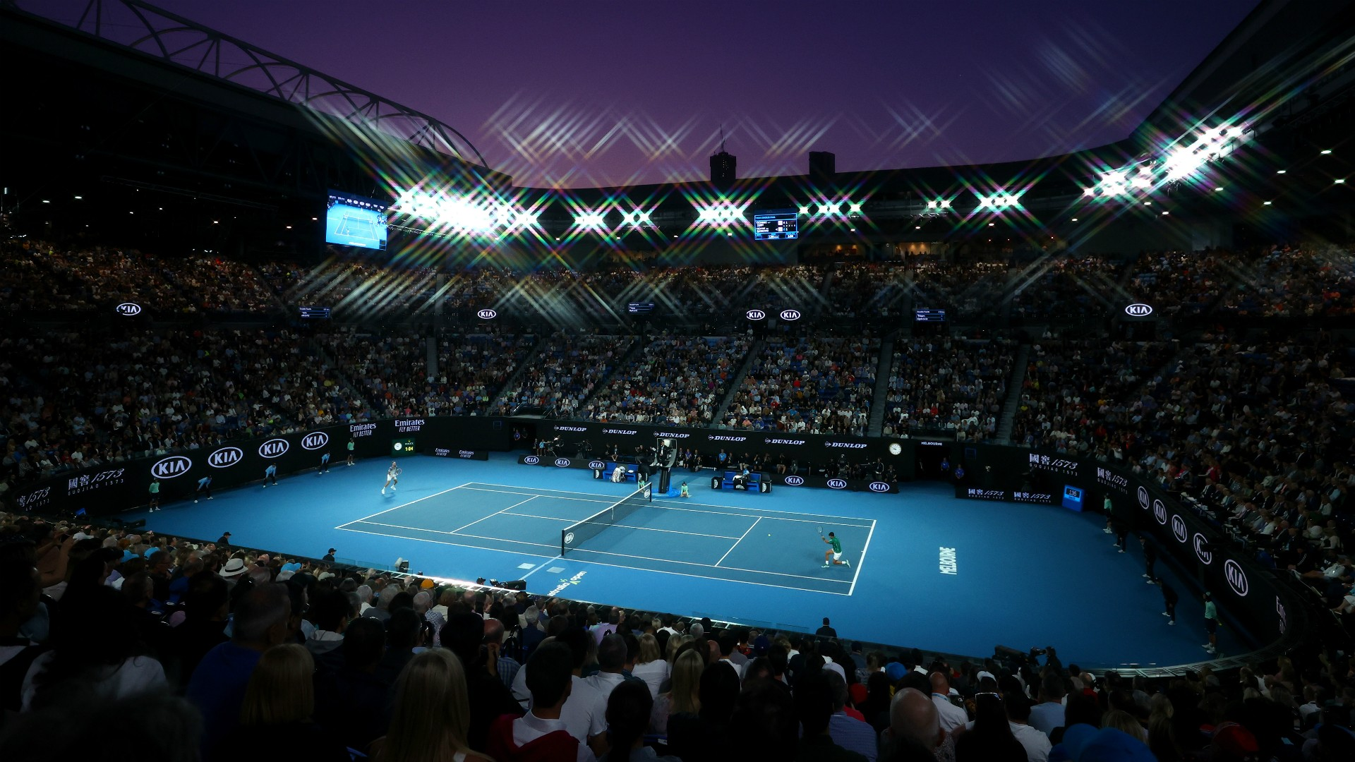 The Rod Laver Arena at Melbourne Park could remain empty in 2021