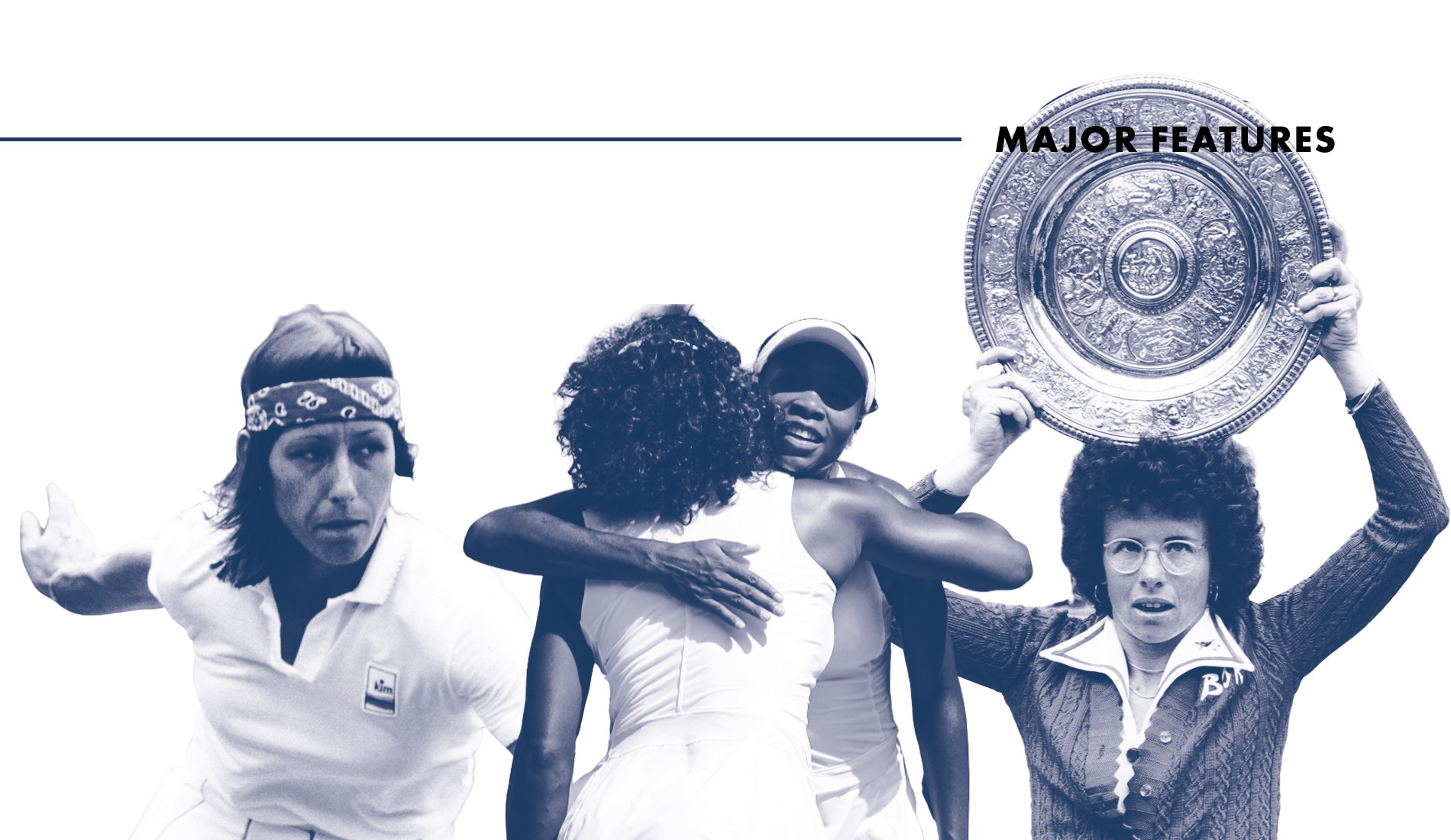 Let apart by men who did not belive in themselves, women had to fight to make their own tennis tour growing.