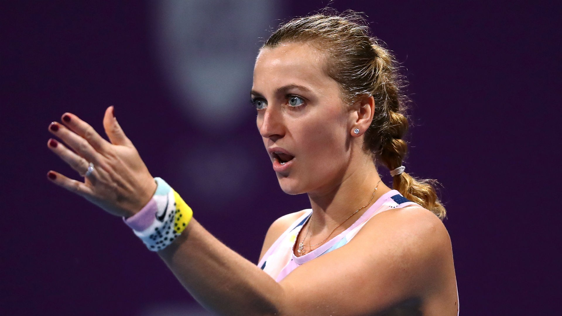 Petra Kvitova believes Grand Slams without fans should not be played