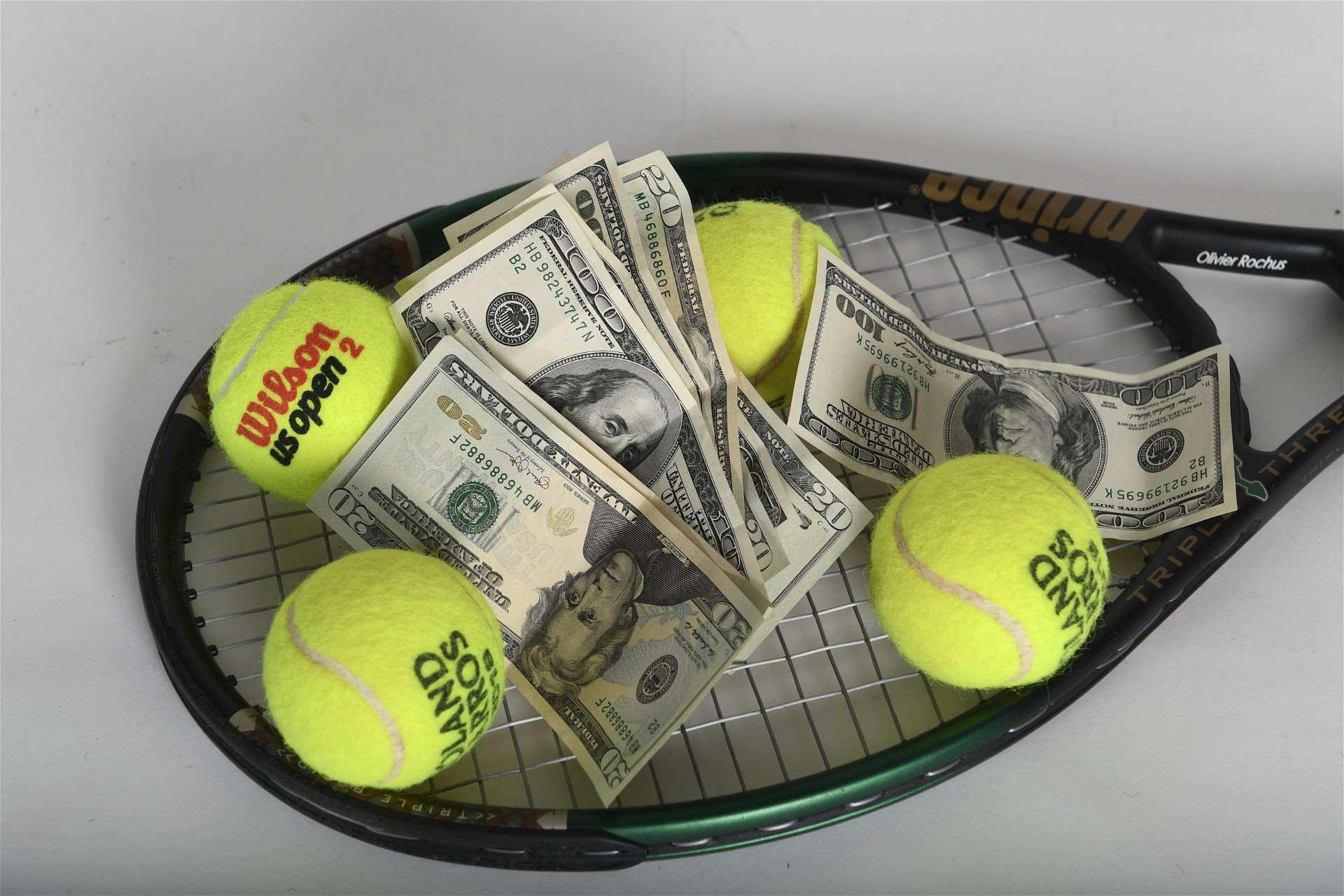 Tennis and money