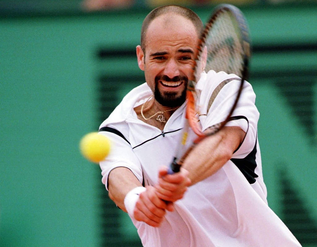 Andre Agassi - On this day
