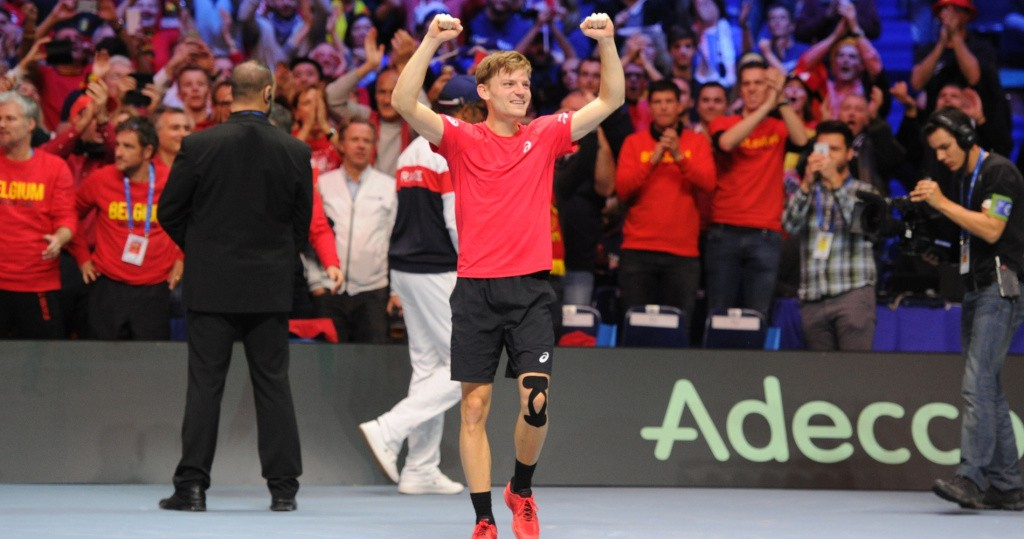 David Goffin, 2017 Davis Cup