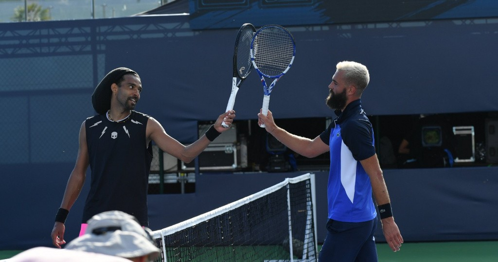 Dustin Brown and Benoît Paire, UTS 2020