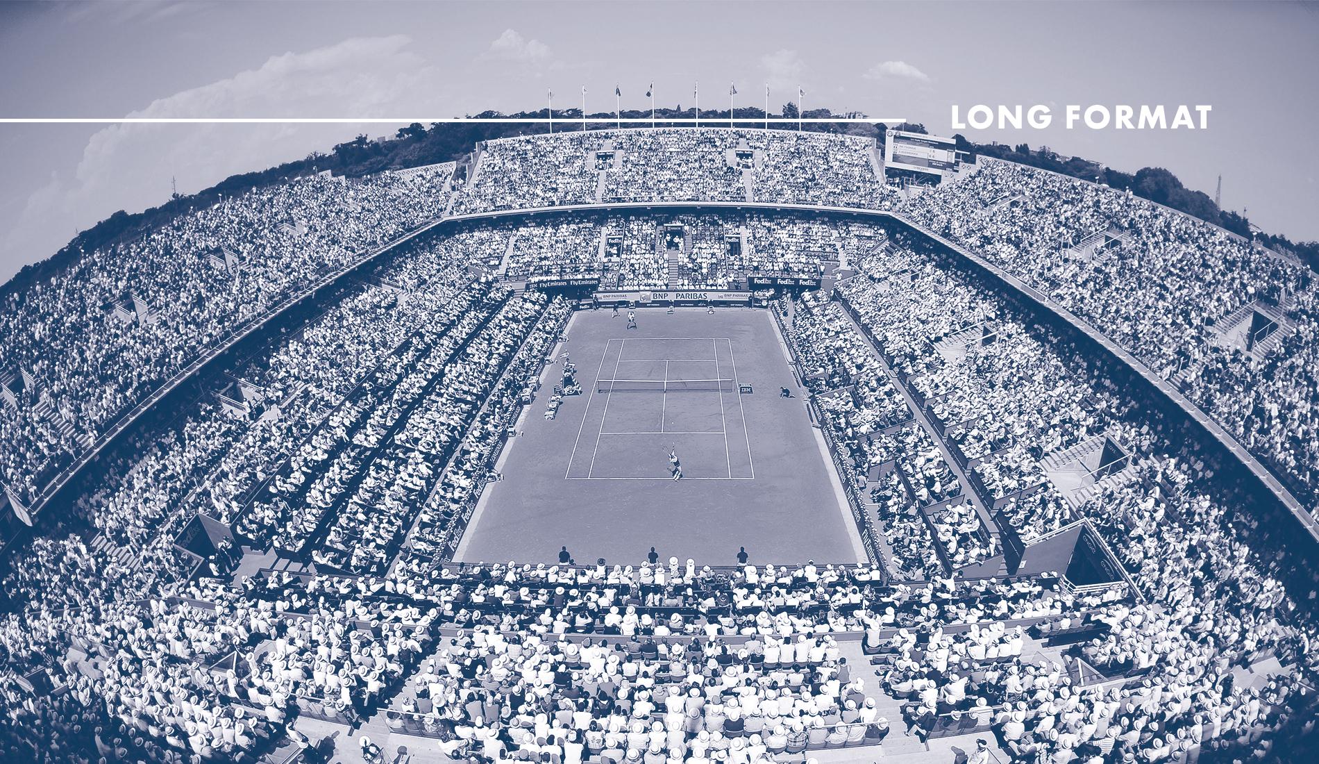 Roland-Garros in French tennis : Feature FR